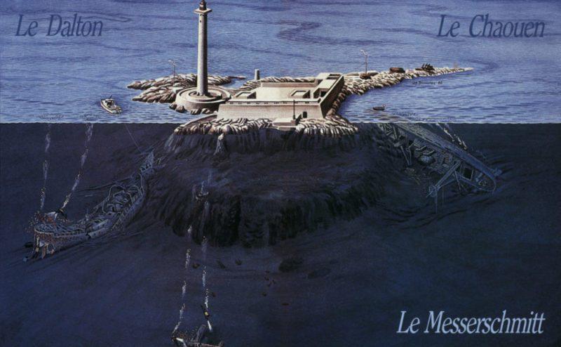 Plongée 5 épaves au Planier Marseille