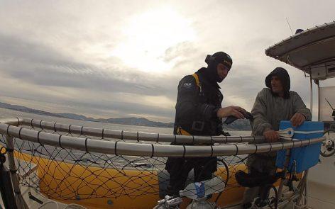 Plongee en Recycleur sur l'épave du Miquelon à Marseille