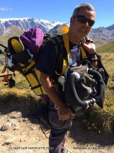 plongée lac montagne altitude Merlet Vanoise