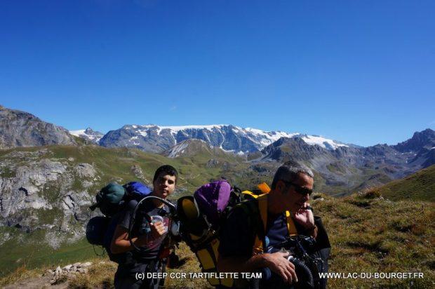 plongee Lac Altitude montagne Merlet Vanoise