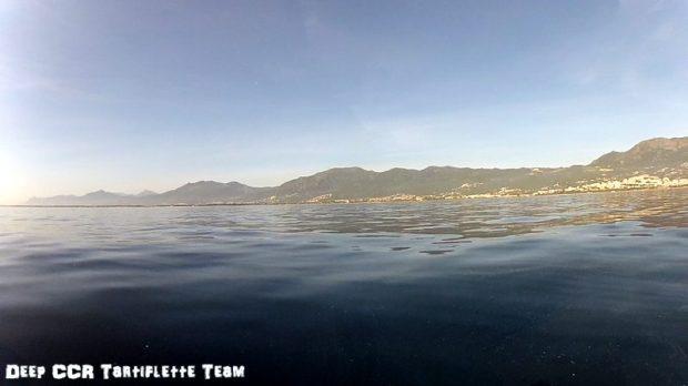 Épave barge de la Marana Bastia Corse