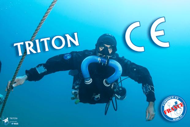 Le recycleur Triton a obtenu la certification CE