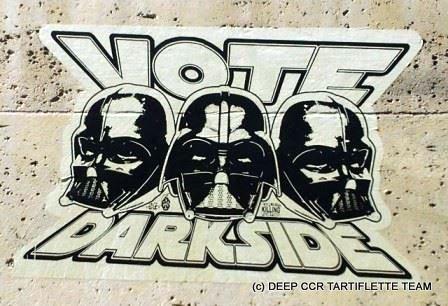 """""""Vote Darkside"""" et plonge en recycleur"""