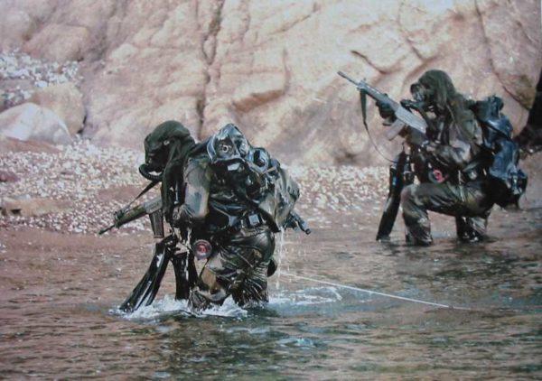 Formation nageur de Combat commando Hubert