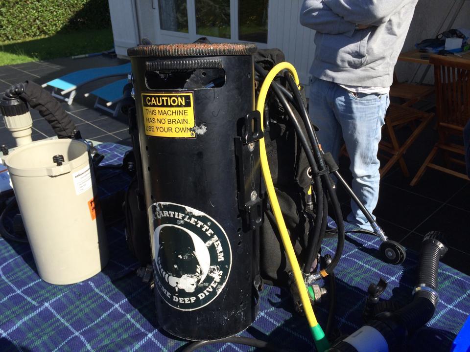 Montage du Recycleur élecronique Inspiration Vision eCCR