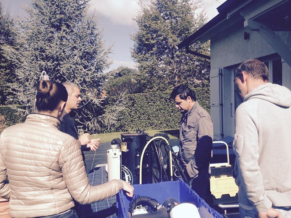 Des élèves attentifs à la journée découverte du recycleur