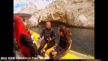 Baptême de plongée à Marseille Choupinette