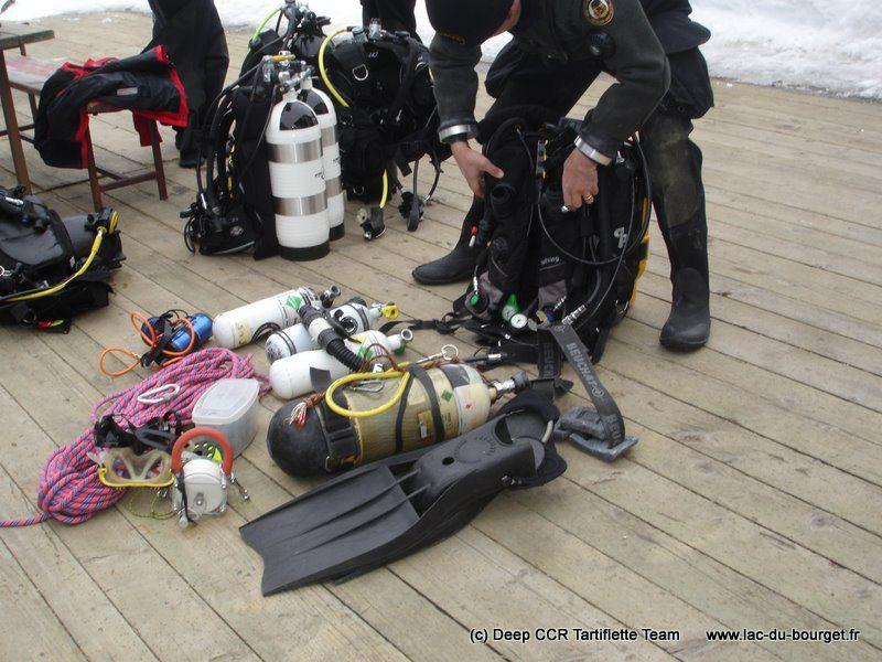 Plongée sous glace équipement et matériel