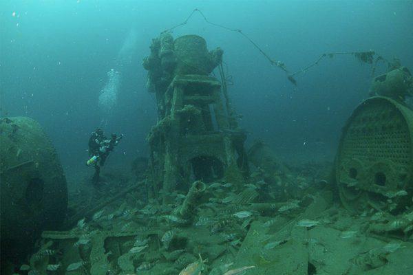 Plongée en France sur les épaves de la seconde Guerre mondiale WWII