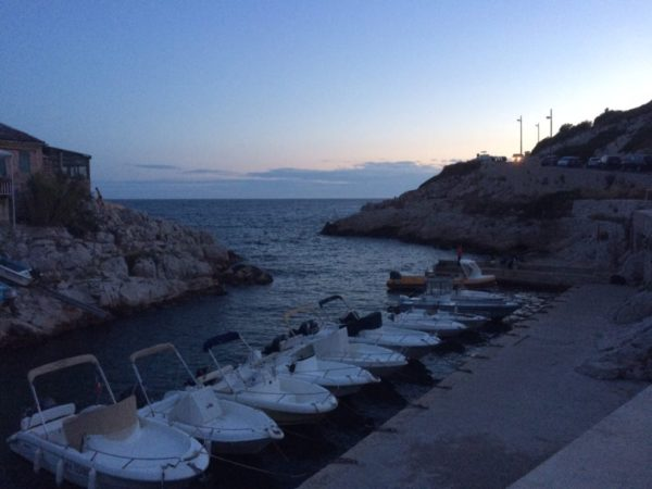 Plongée de nuit à Marseille dans la Callanque de Callelongue
