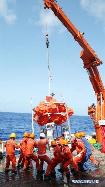 Sous-marin sans pilote chinois autonome