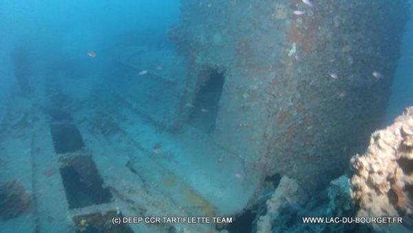 Plongée à Marseille sur l'épave du Ker Bihan