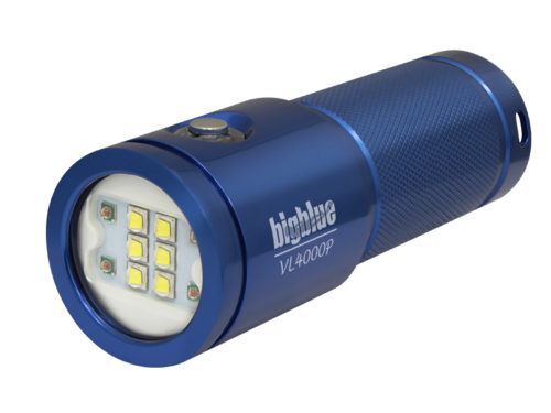 Lampe de plongée vidéo VL4000P