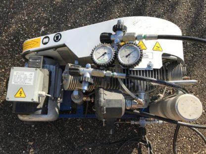 Compresseur de plongée Paramina Mistral d'occasion 6m3/h double pression de sortie 240/310b
