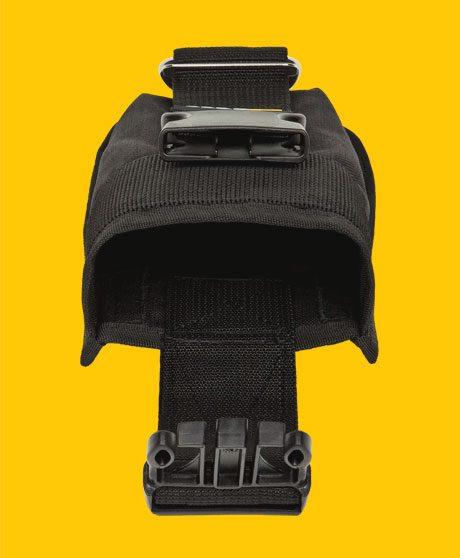 Détails poche de poids pour plaque arrière.