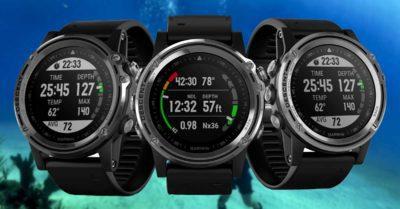 Ordinateur de plongée Garmin Descent MK1 dans notre guide sur les meilleurs ordinateurs de plongée 2020