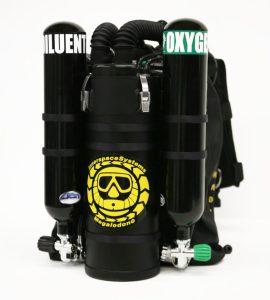 Recycleur de plongée ISC Megalodon 15