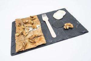 chevre noix galette La Cabane du Breton Crêperie Restaurant à Arcachon
