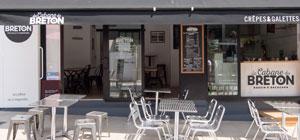 terrasse La Cabane du Breton Crêperie Restaurant à Arcachon