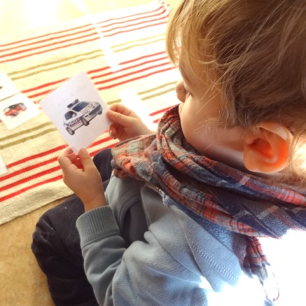 Véhicules spécialisés enfant cartes de nomenclature Montessori