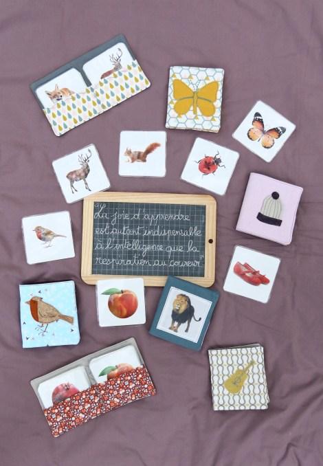 cartes de langage Montessori nomenclature
