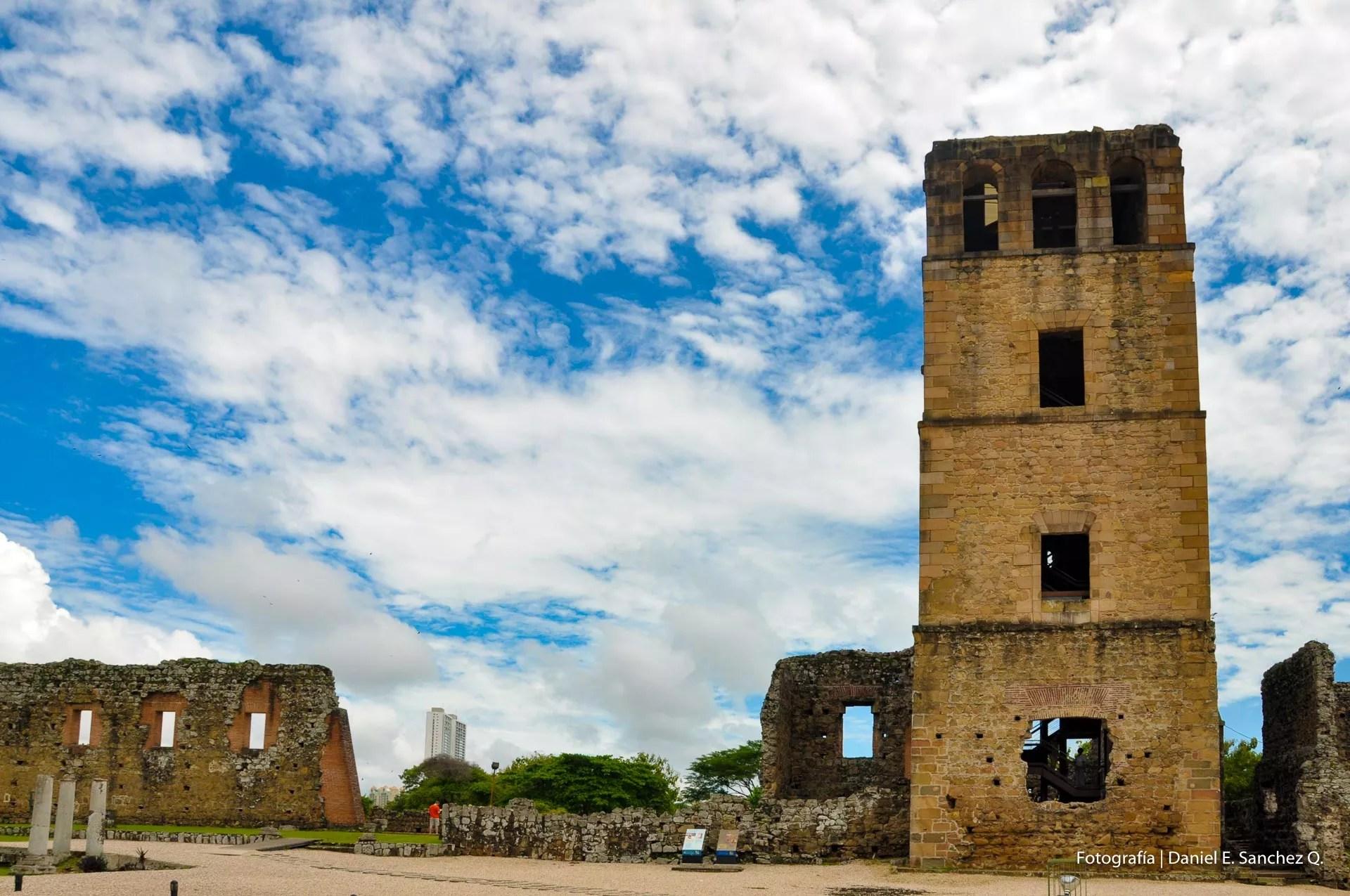 Torre de la catedral de Panamá La Vieja
