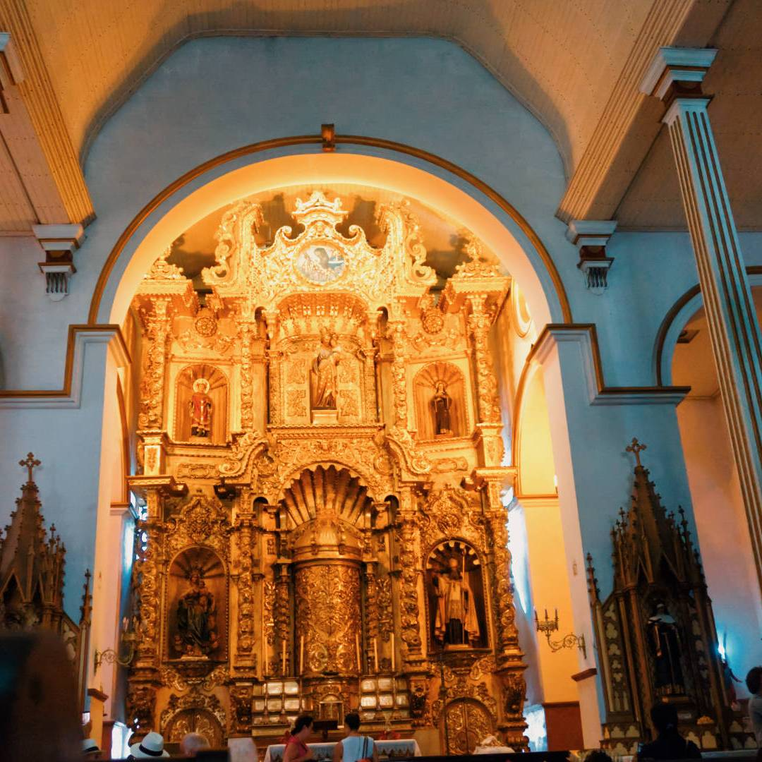 Iglesia de San José - Altar de Oro