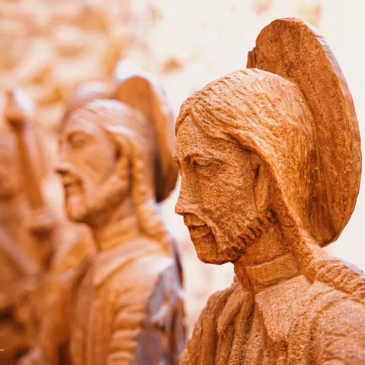 Figuras tallas de la Catedral Metropolitana de Panamá