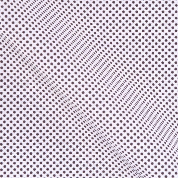 Slim Fit – Print Hemd mit Haifisch Kragen – Mikro Print