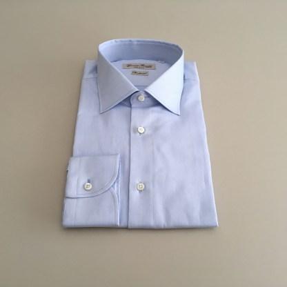 Comfort Fit – Business Hemd mit Kent Kragen – Compact Twill