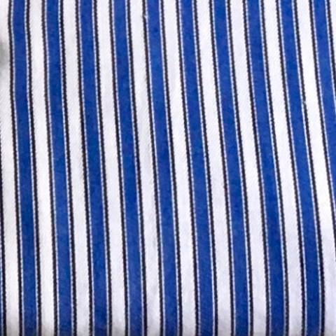 Blau-Weiss Streifen