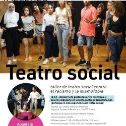 Taller de teatro social contra el racismo y la islomofobia