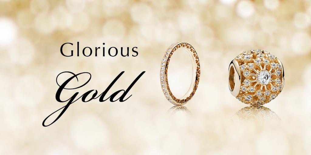 PANDORA Jewelry Solid 14k Gold
