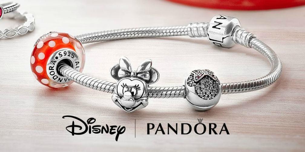 PANDORA Disney Mickey and Minnie Mouse