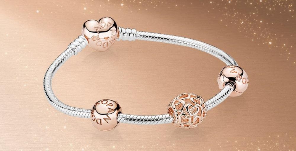 Pandora rose bracelet