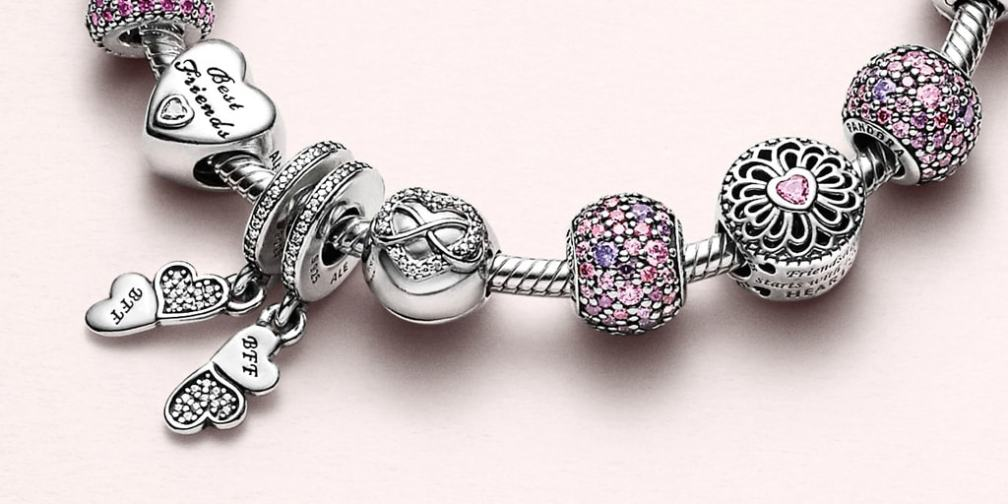 PANDORA Dangle Charms Best Friends