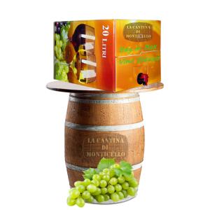 Vino Bianco Bag in Box 20 Litri