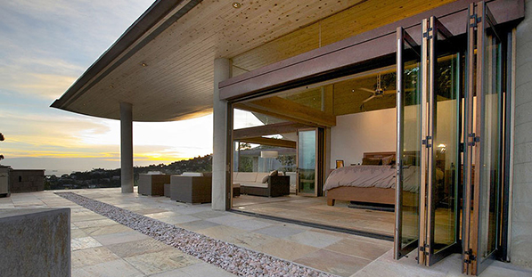 CHRISTOPHER KENNEDY SELECTS LaCANTINA DOORS FOR MODERNISM