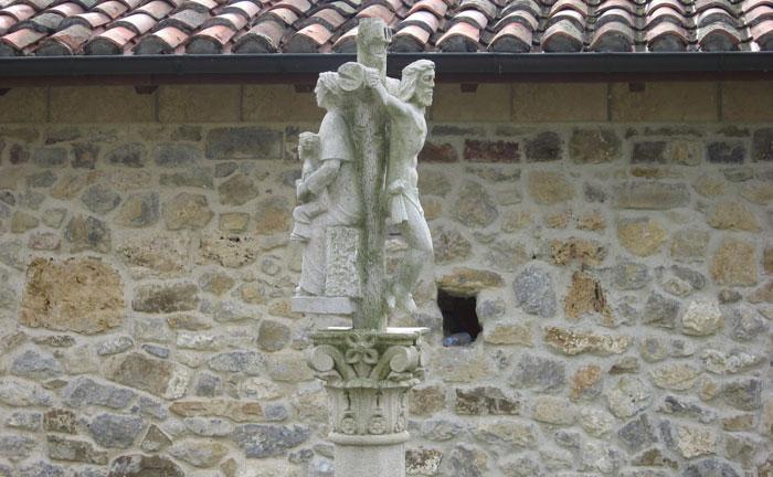 Cristo de iglesia de Nuestra Señora Cébrano