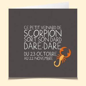 Scorpion horoscope www.lacartevocale.com