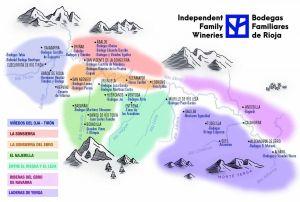 Mapa Riojas de Pueblo