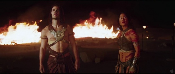 John Carter 2012 trailer super bowl castellano
