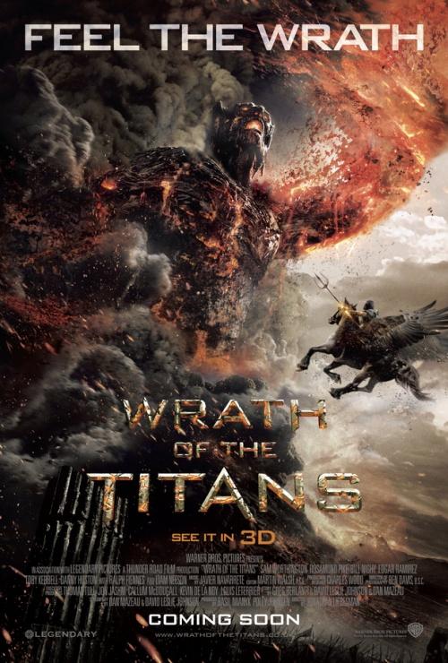 poster titan ira de titantes 3d