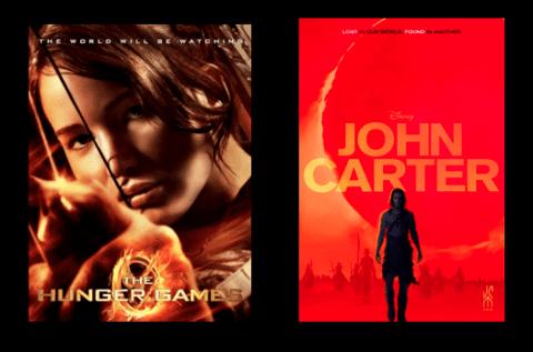 John Carter y Los Juegos del Hambre