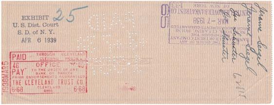 Cheque Superman