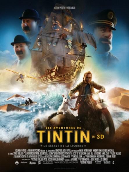 Tintin y El Secreto del Unicornio