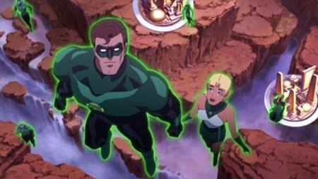 Hal Jordan y Arisia