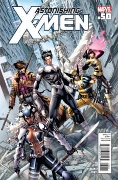 Portada del número 50 de Astonishing X-Men