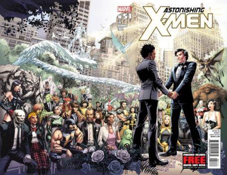 Portada del número 51 de Astonishing X-Men