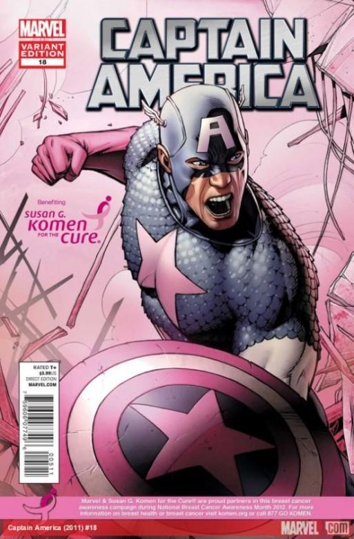 Portadal alternativa del Captain America 18